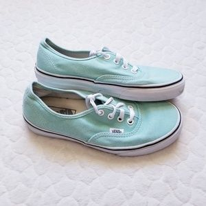 Vans sneakers mint shoes skater 6.5 minty